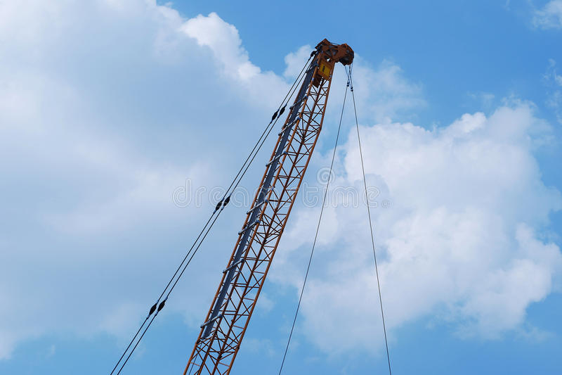 Download Lever crane stock image. Image of construction, machinery - 26387027