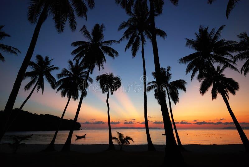 Lever de soleil à la MU Ko Angthong Island.#4 image stock