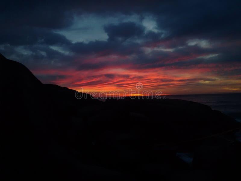 Download Lever de soleil image stock. Image du rose, sunrise, nature - 77155155
