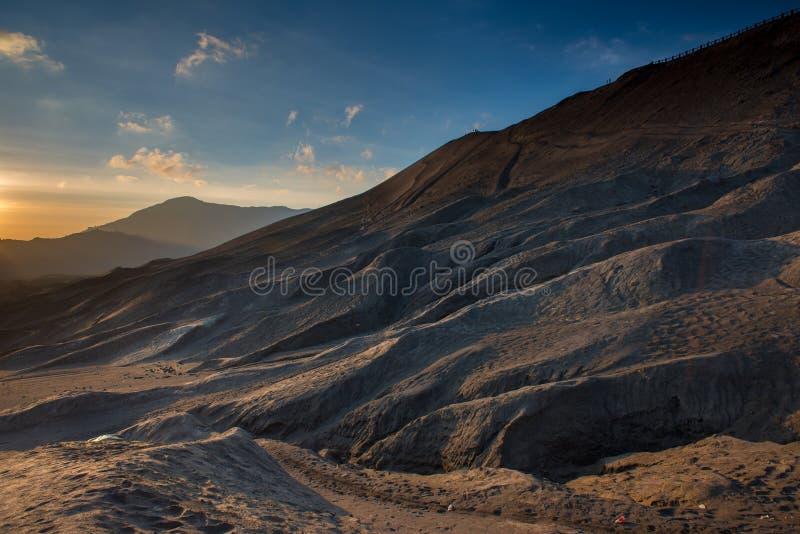 Lever de soleil au bâti Bromo images libres de droits