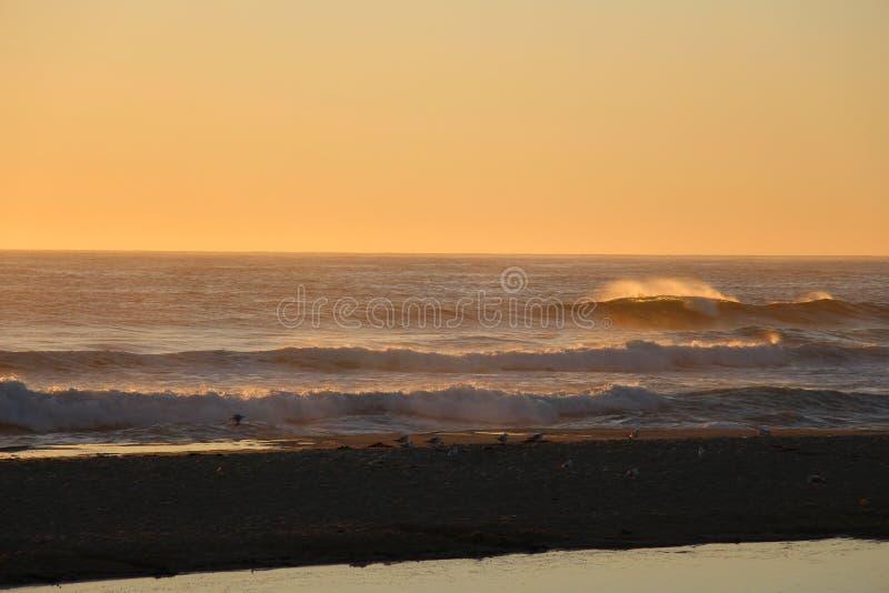 Lever de soleil chez Éden, NSW images stock