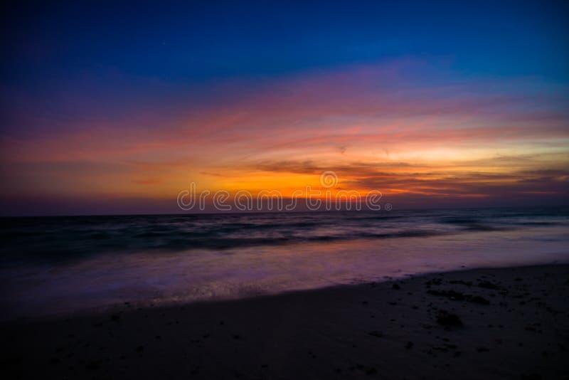 Lever de soleil d'île de Havelock images stock