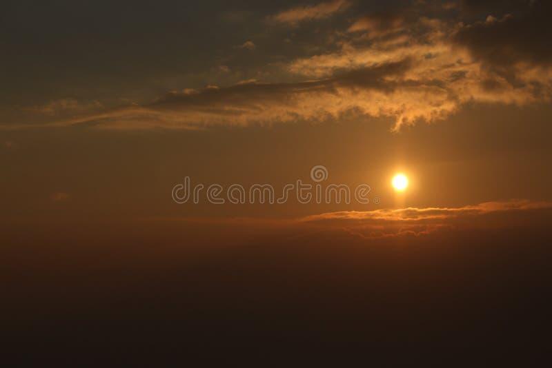 Lever de soleil dans Mt Hotham photos libres de droits