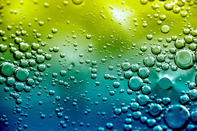 Lever de soleil de bulle image stock