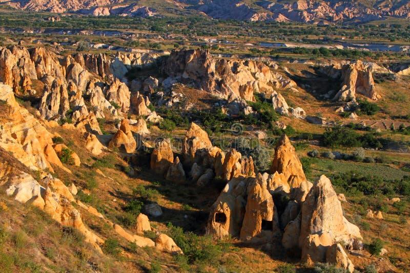 Lever de soleil de Cappadocia images libres de droits