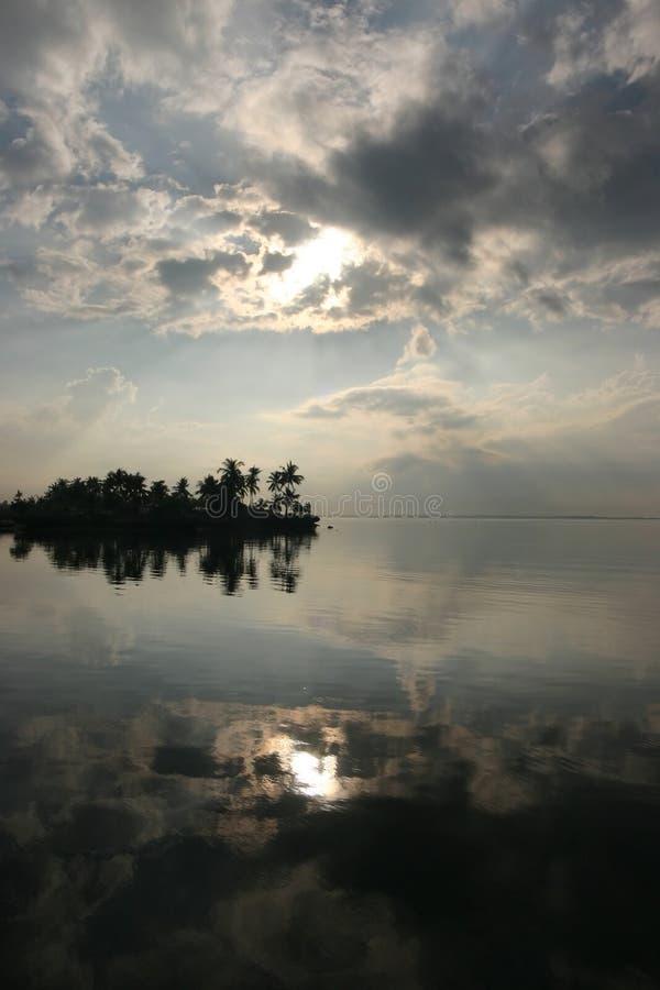 Lever de soleil de Cebu images stock