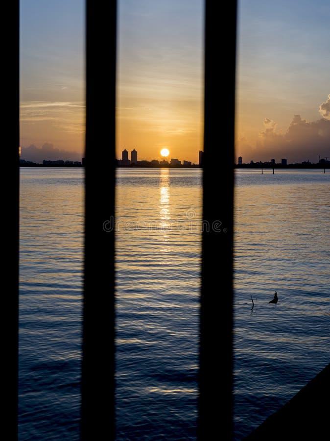 Lever de soleil de la Floride photos stock