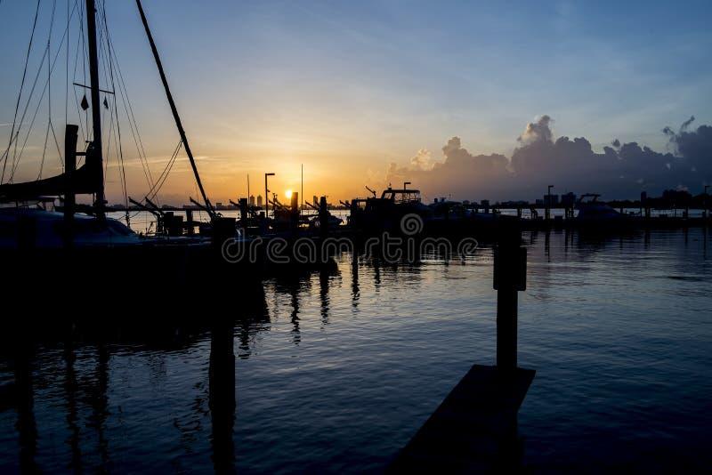 Lever de soleil de la Floride photographie stock