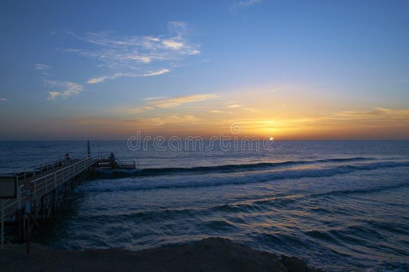 Lever de soleil de la Mer Rouge photos stock
