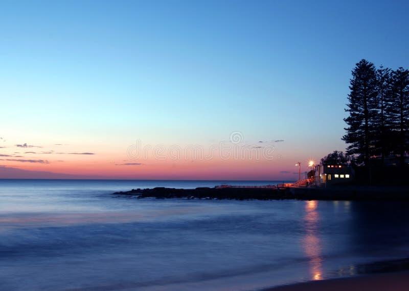 lever de soleil Pacifique photographie stock libre de droits