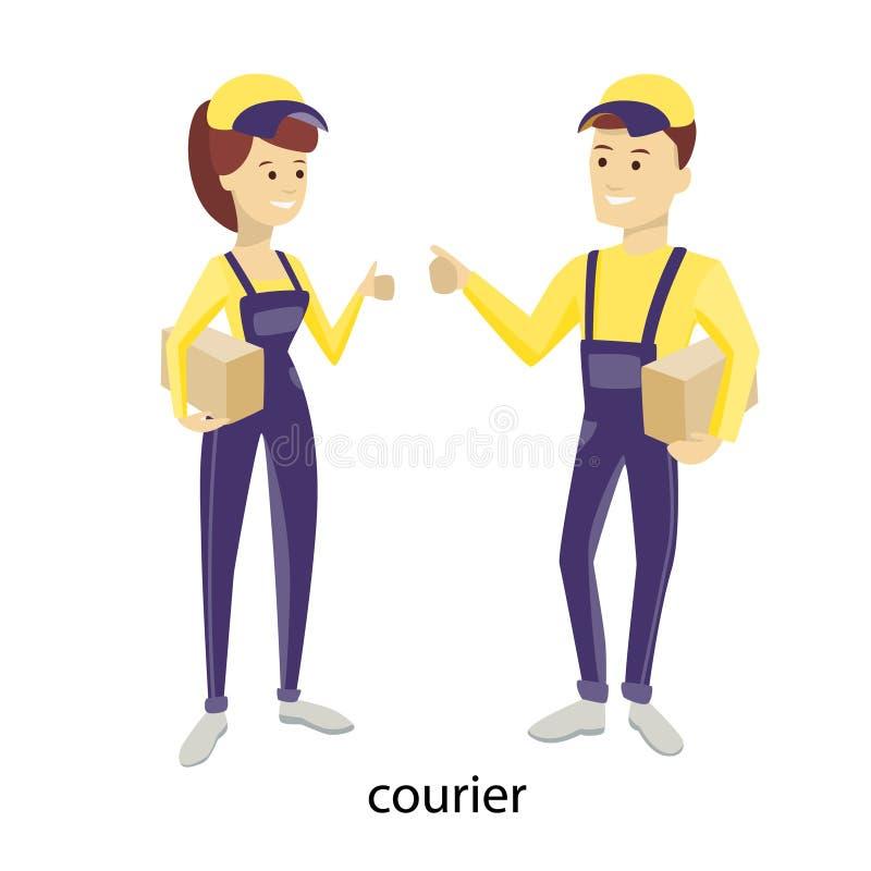 leveranspar vektor illustrationer
