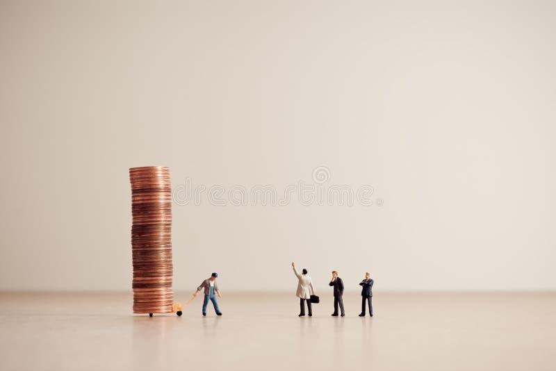 Levering van fondsen Zaken en geldconcept royalty-vrije stock fotografie
