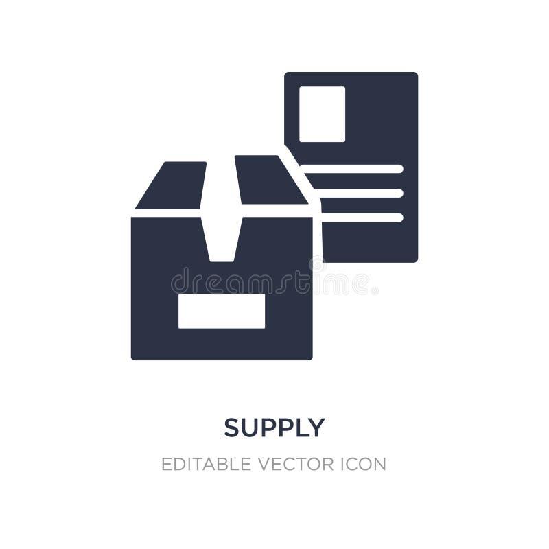 leveringspictogram op witte achtergrond Eenvoudige elementenillustratie van Algemeen concept vector illustratie