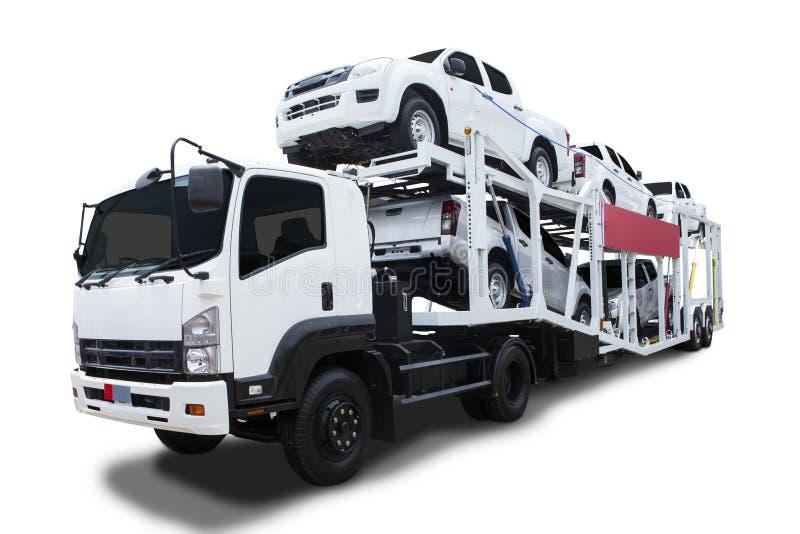 Leveringsvrachtwagen royalty-vrije stock foto