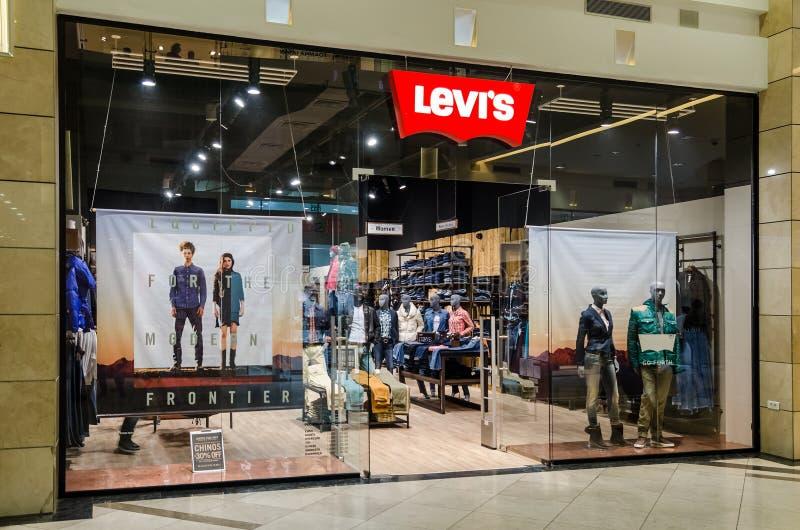 Levi Strauss Store royaltyfria bilder