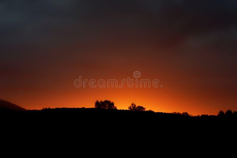 Levier de soleil photos stock