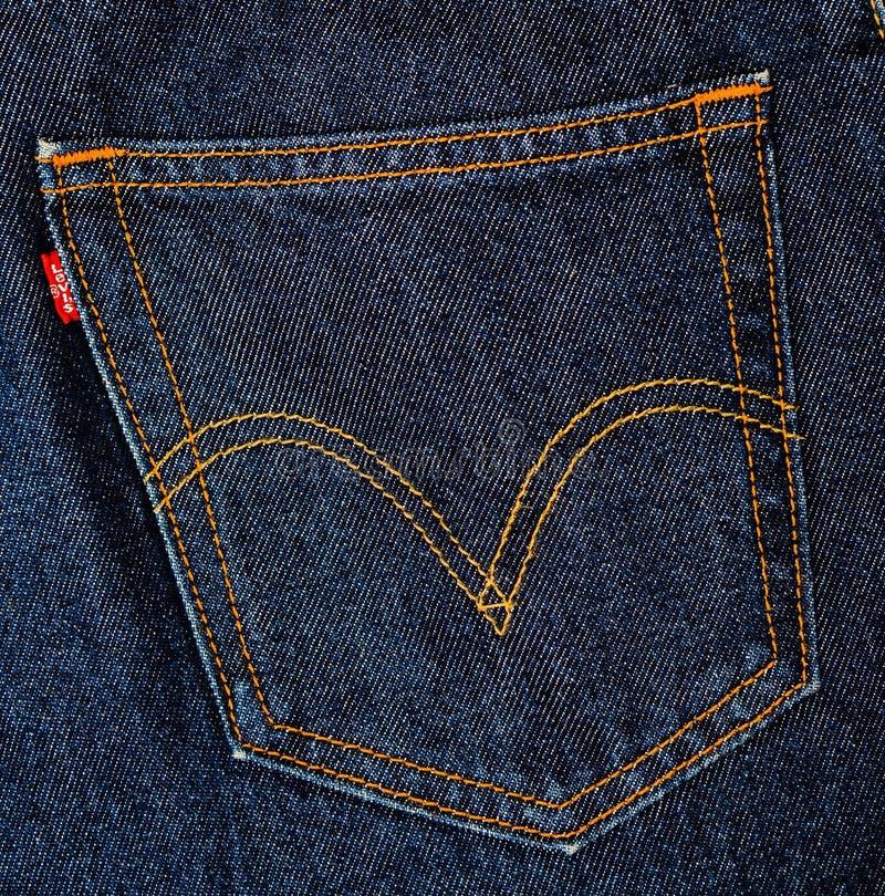 Free Levis Jeans, Fabric, Denim Indigo Royalty Free Stock Image - 52869236