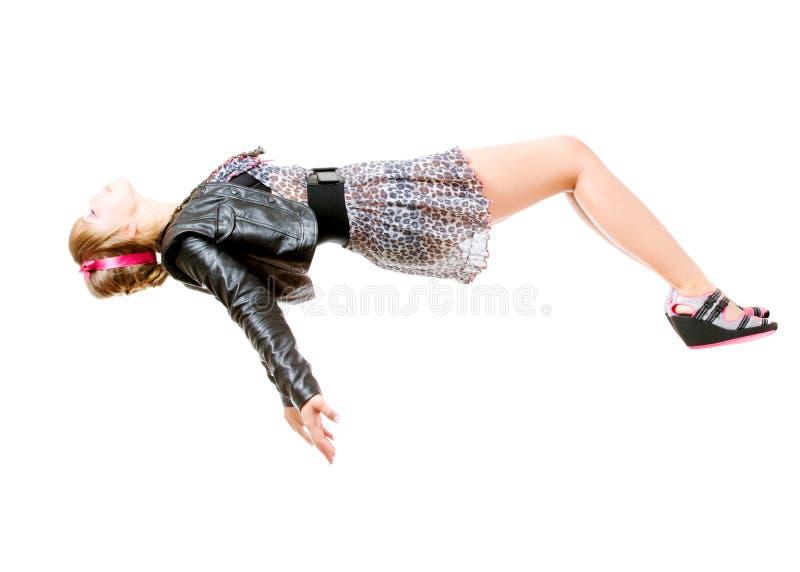 Levitação foto de stock