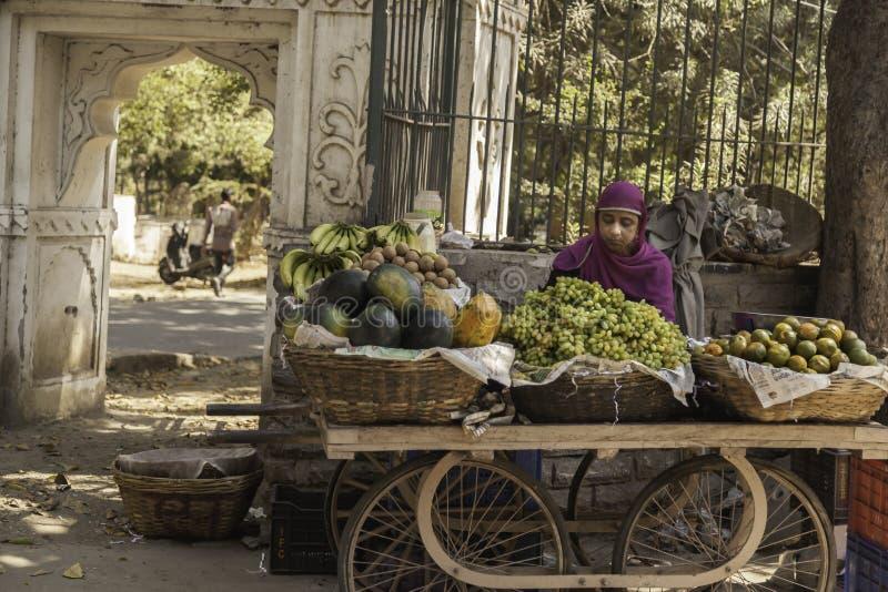 Levitating owoc Stoiskowa dama zdjęcie stock