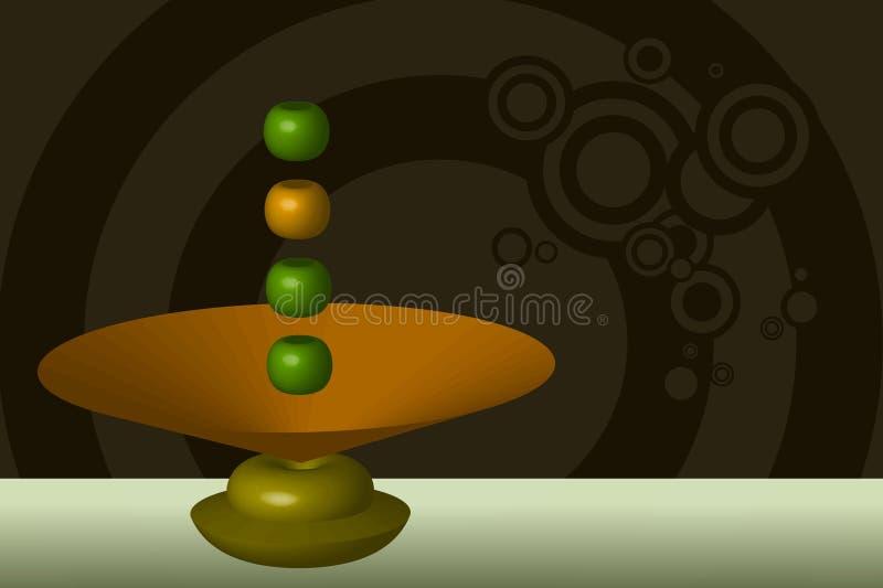 Download Levitation stock vector. Illustration of levitation, green - 2500317