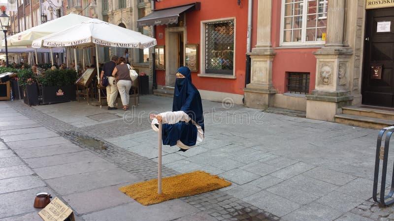 levitation imagem de stock royalty free