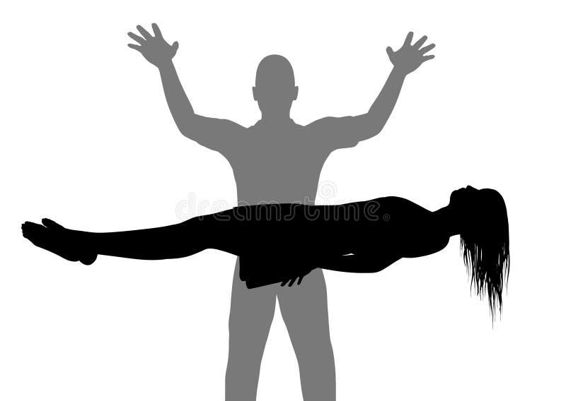 Levitation stock image