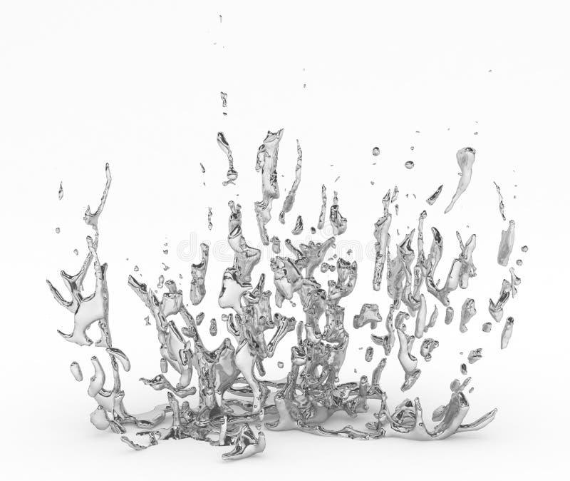 Levitazione del Mercury illustrazione di stock