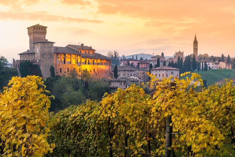 Levizzano, Emilia Romagna, Italie photographie stock libre de droits