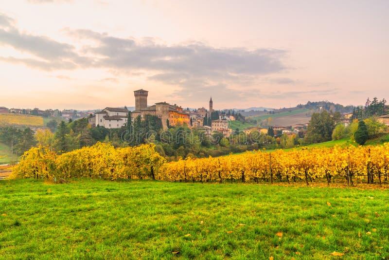 Levizzano Modena, Emilia Romagna, Italien arkivbilder