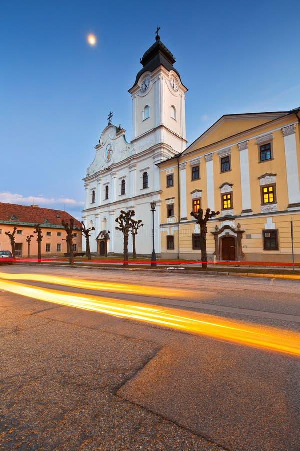 levoca斯洛伐克 免版税库存图片