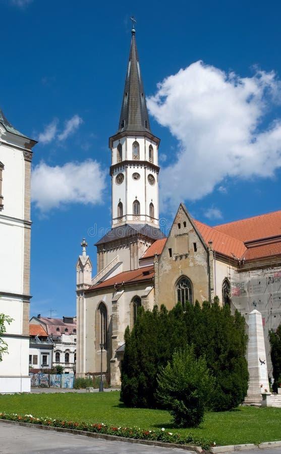 Levoca, Eslovaquia imagenes de archivo