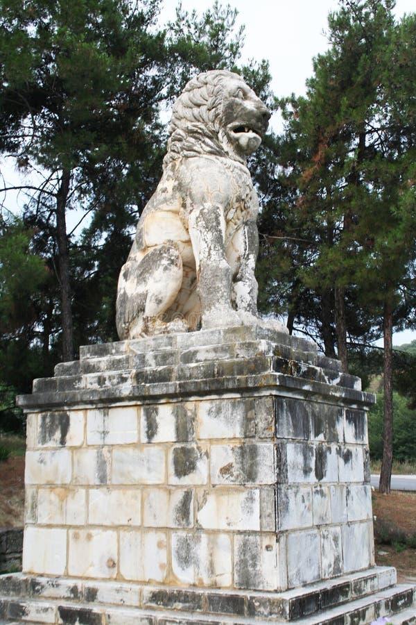 Lew Amphipolis zdjęcie royalty free