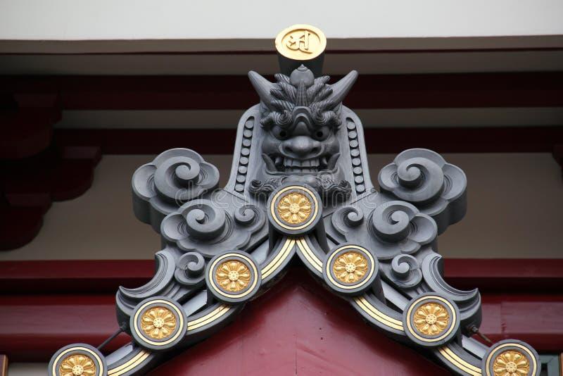 Lew Buddha artefakt zdjęcia stock