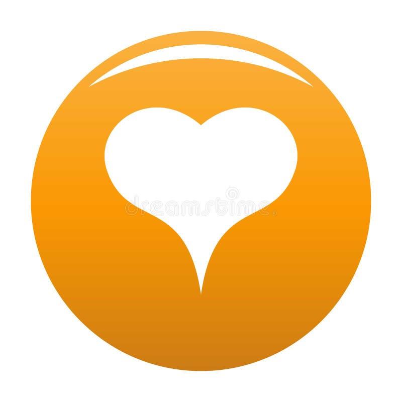 Lew ikony Kierowa pomarańcze ilustracji