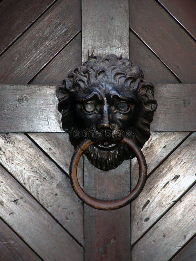lew knocker drzwi. obraz royalty free