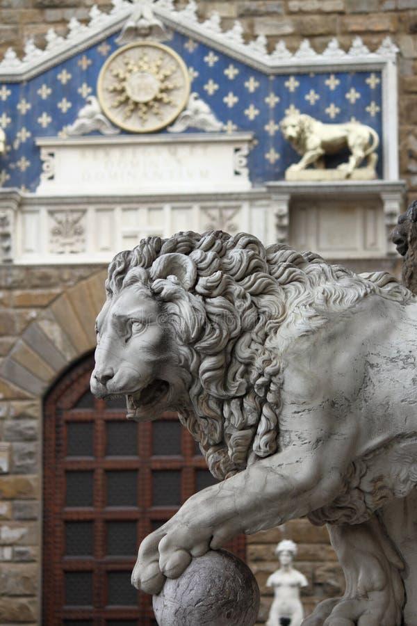 Download Lew w Florencja obraz stock. Obraz złożonej z średniowieczny - 28955979