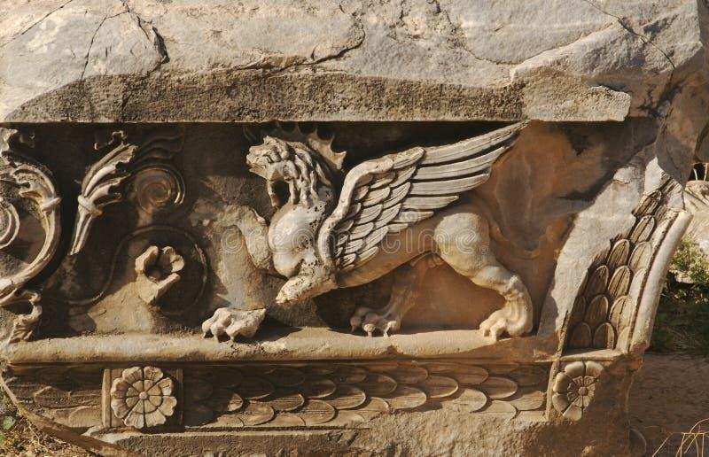 lew zwolnień skrzydła zdjęcie stock