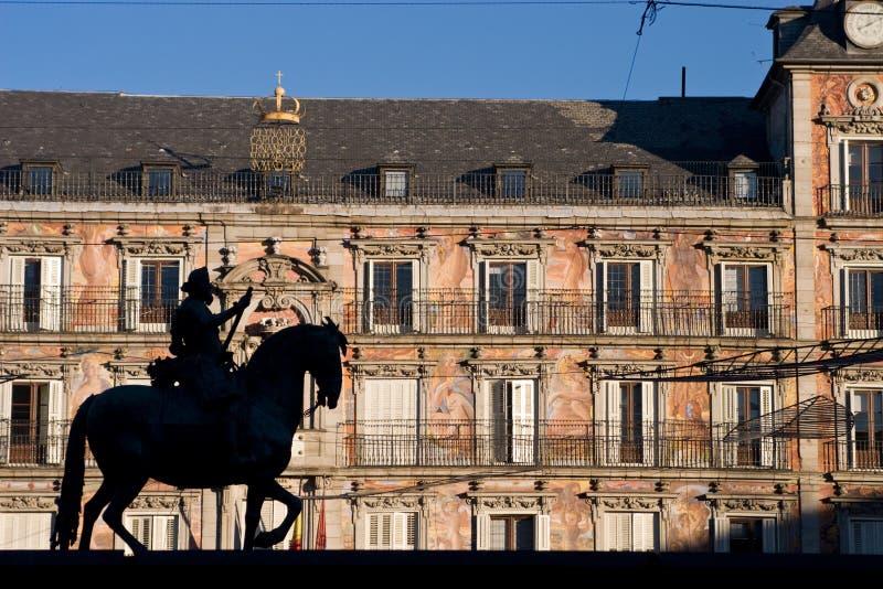 lewa burmistrz plaza obrazy stock