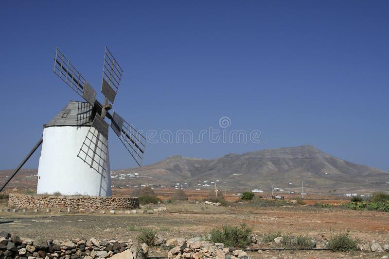 lewa ramowy tradycyjne hiszpańskie młyn obrazy stock