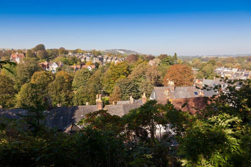 Lewes östliga sussex England, Förenade kungariket royaltyfria bilder