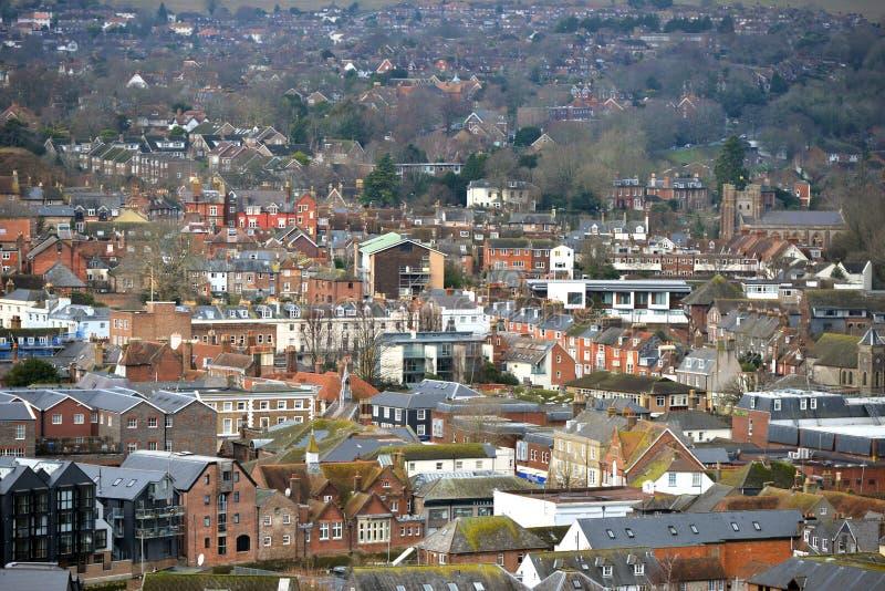 Lewes, East Sussex lizenzfreie stockfotografie