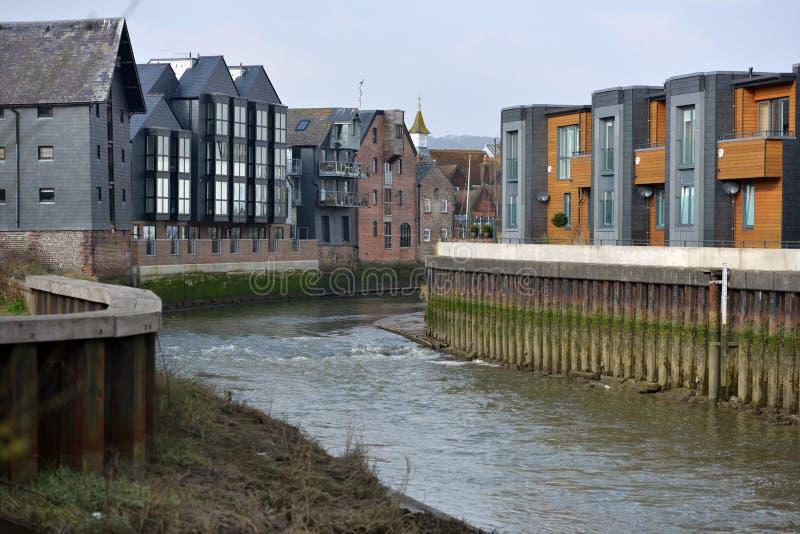 Lewes-Häuser lizenzfreies stockfoto