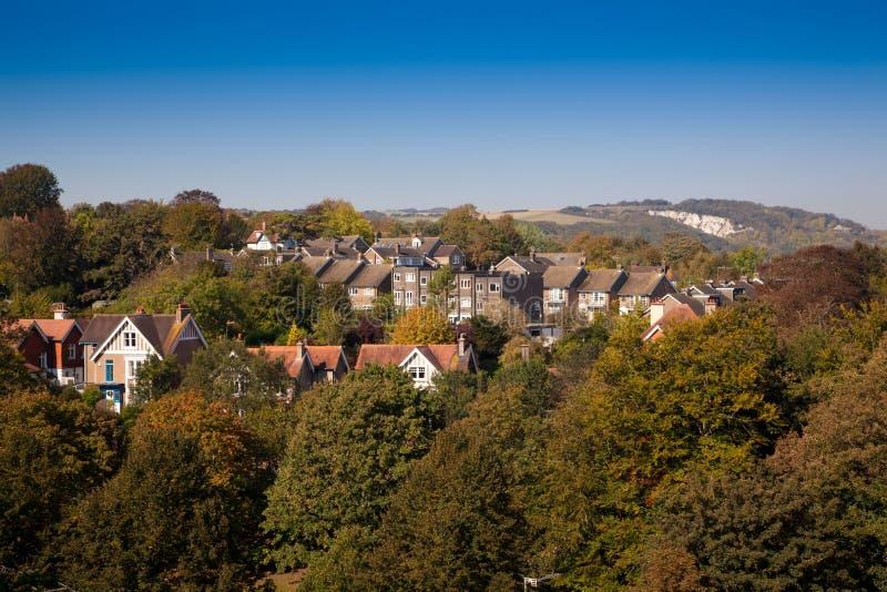 Lewes Oost-Sussex Engeland, het Verenigd Koninkrijk royalty-vrije stock afbeeldingen
