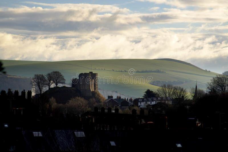 Lewes-Schloss lizenzfreie stockbilder