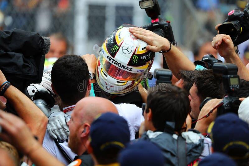 Lewis Χάμιλτον (GBR), ομάδα AMG Mercedes F1, 2016 Μονακό GP, στοκ εικόνα