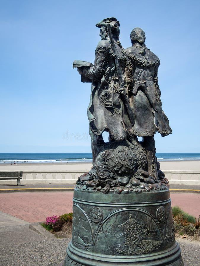 Lewis et Clark, bord de la mer, Orégon photos stock