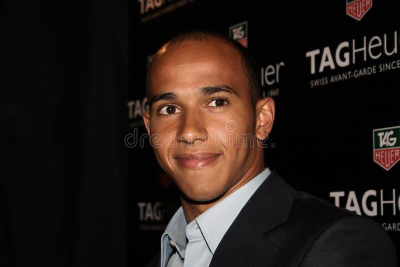 Lewis Hamilton lizenzfreie stockfotos