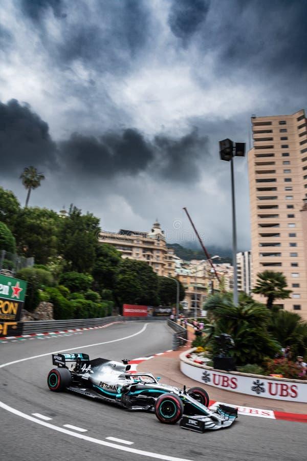 #44 Lewis HAMILTON GBR, Mercedes, W10 fotografia de stock royalty free