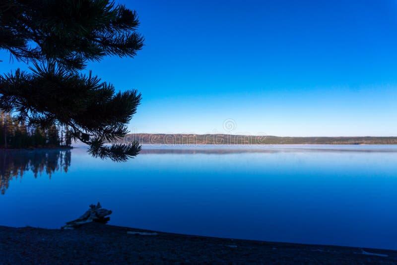 Lewis Lake Early Morning imagen de archivo