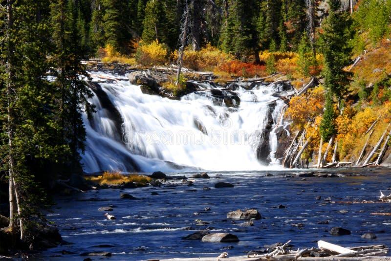 Lewis water falls stock image
